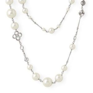 NIB Stella & Dot Madeline Pearl Necklace